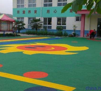 EPDM幼儿园安全地坪