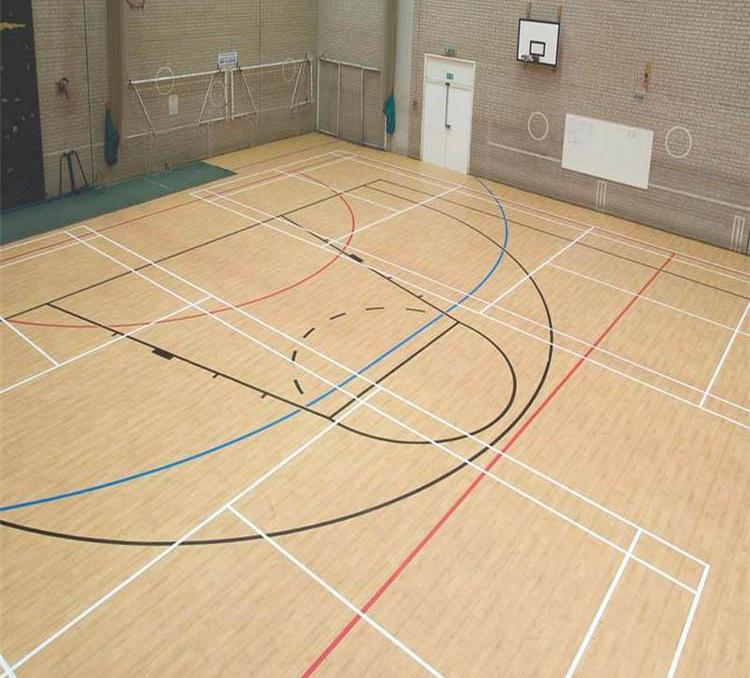 乒乓球场PVC运动地板